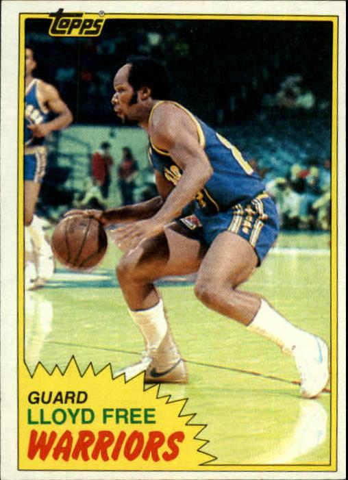 1981-82 Topps #13 Lloyd Free