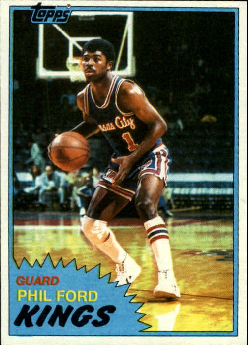 1981-82 Topps #18 Phil Ford