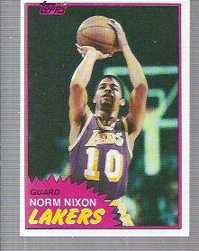 1981-82 Topps #22 Norm Nixon
