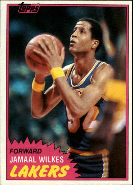 1981-82 Topps #23 Jamaal Wilkes