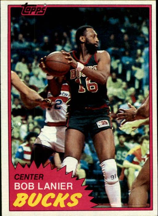 1981-82 Topps #25 Bob Lanier