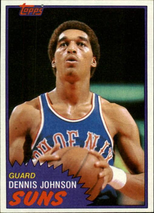 1981-82 Topps #34 Dennis Johnson