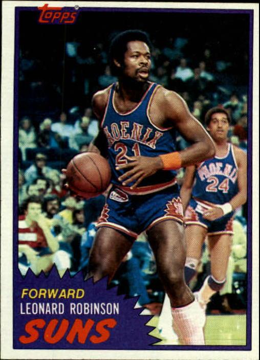 1981-82 Topps #35 Leonard Robinson