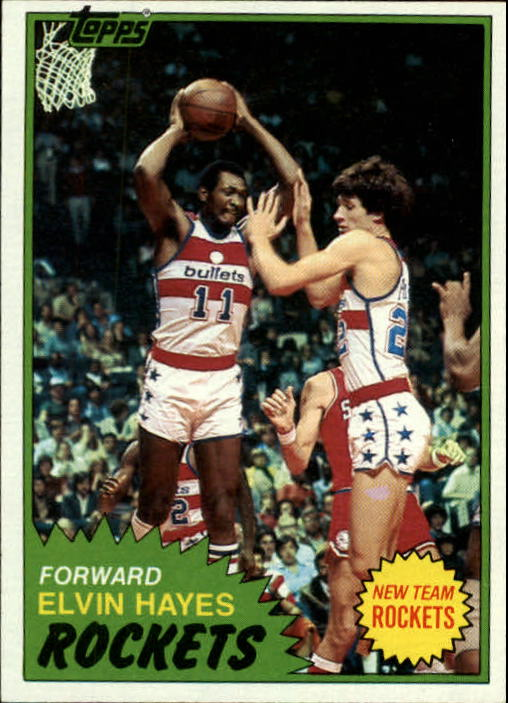 1981-82 Topps #42 Elvin Hayes