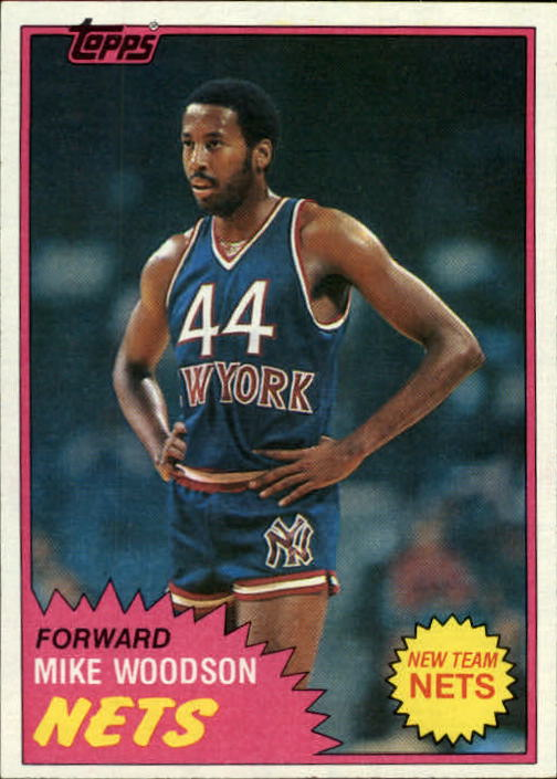 1981-82 Topps #E89 Mike Woodson RC