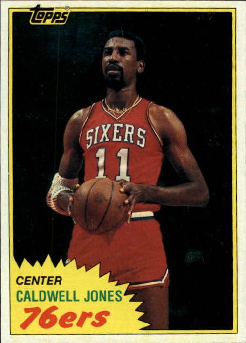 1981-82 Topps #E91 Caldwell Jones