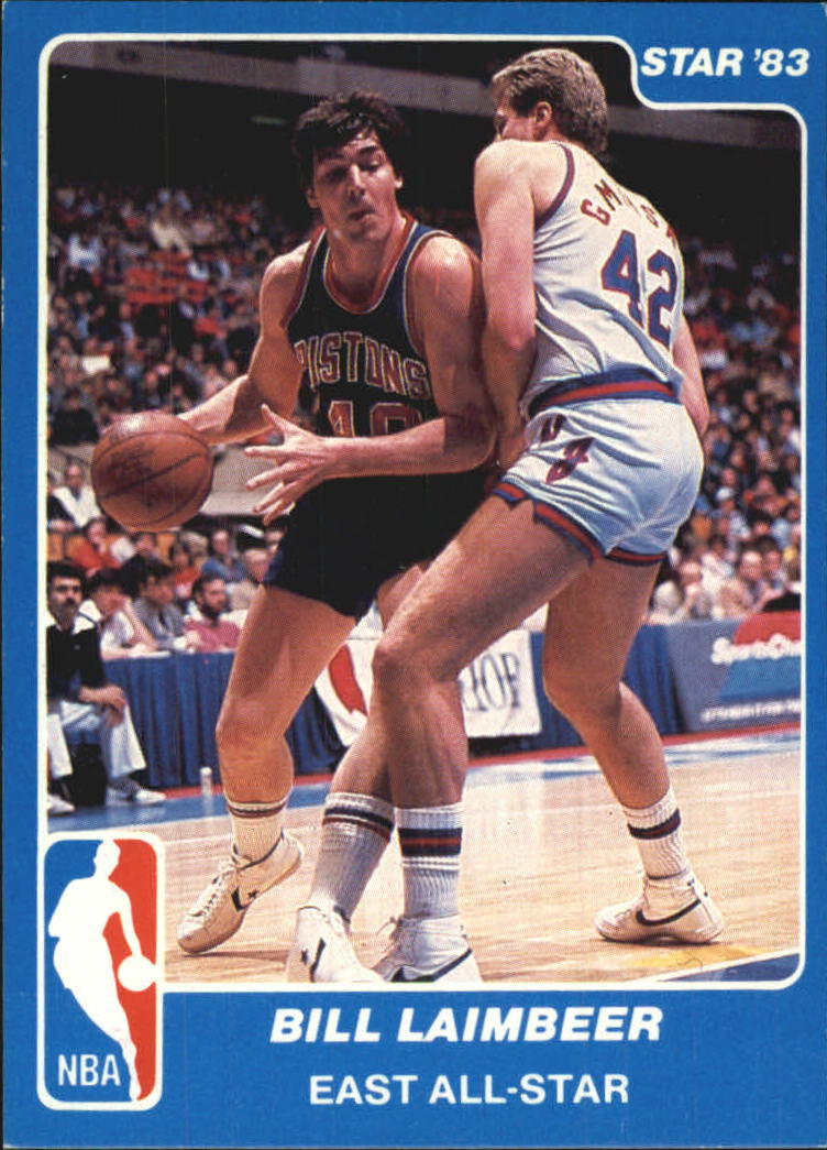 1983 Star All-Star Game #6 Bill Laimbeer