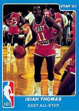 1983 Star All-Star Game #11 Isiah Thomas
