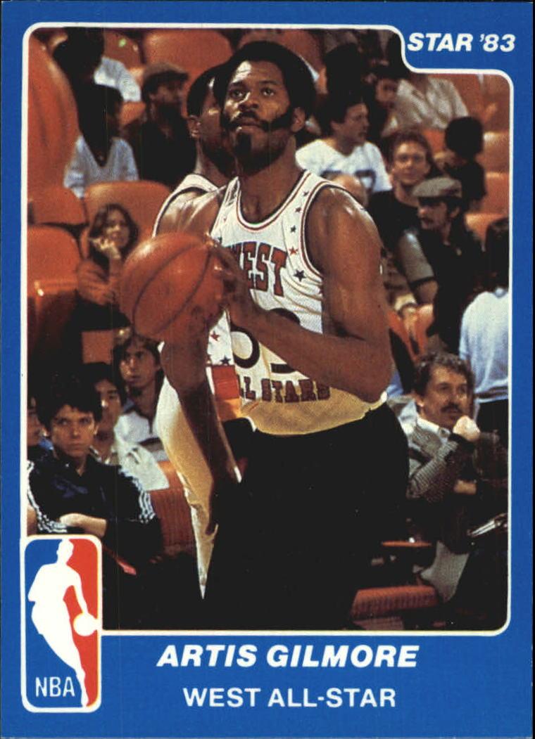 1983 Star All-Star Game #17 Artis Gilmore