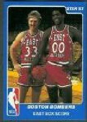 1983 Star All-Star Game #29 Larry Bird/Robert Parish