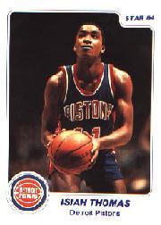 1983-84 Star #94 Isiah Thomas XRC