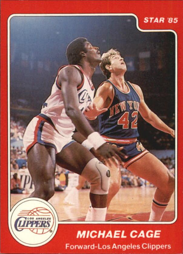 1984-85 Star #15 Michael Cage XRC