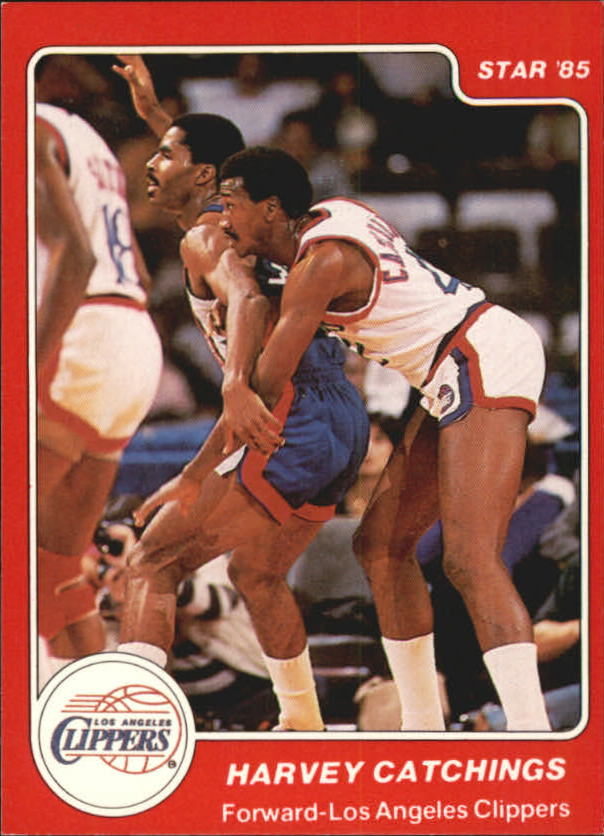 1984-85 Star #16 Harvey Catchings