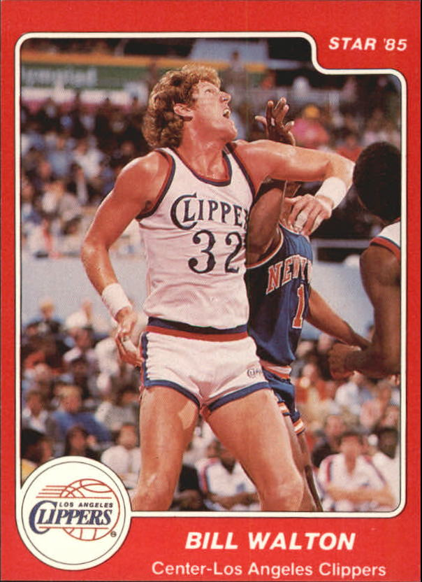 1984-85 Star #22 Bill Walton