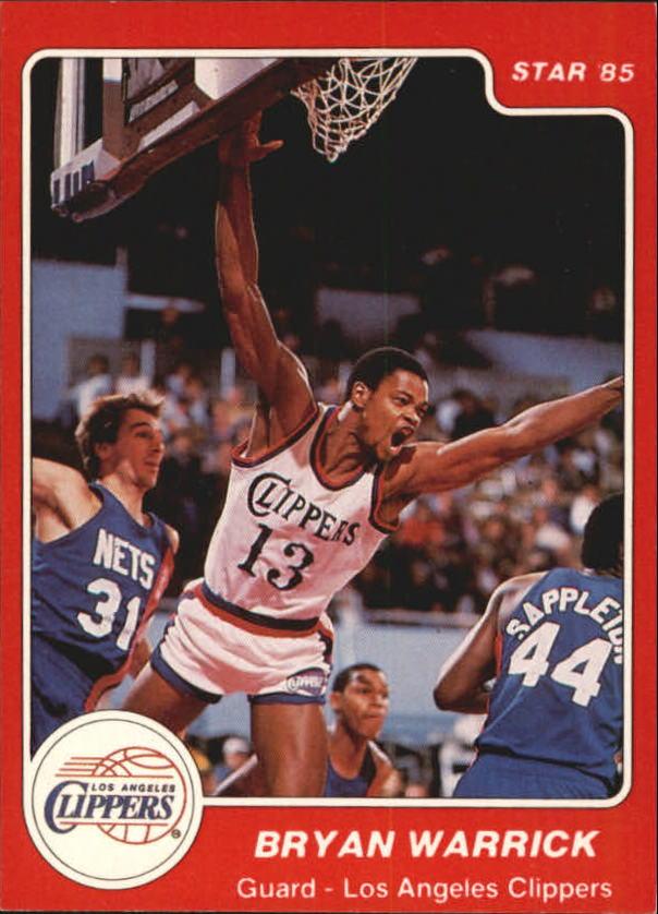 1984-85 Star #23 Bryan Warrick