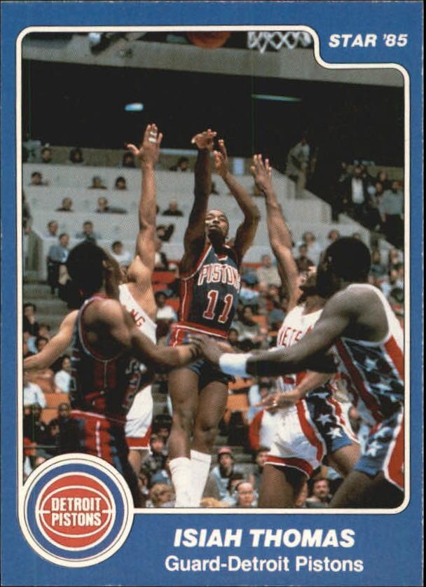 1984-85 Star #261 Isiah Thomas