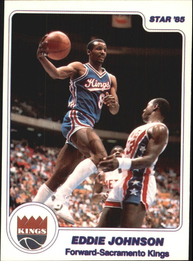 1984-85 Star #273 Eddie Johnson
