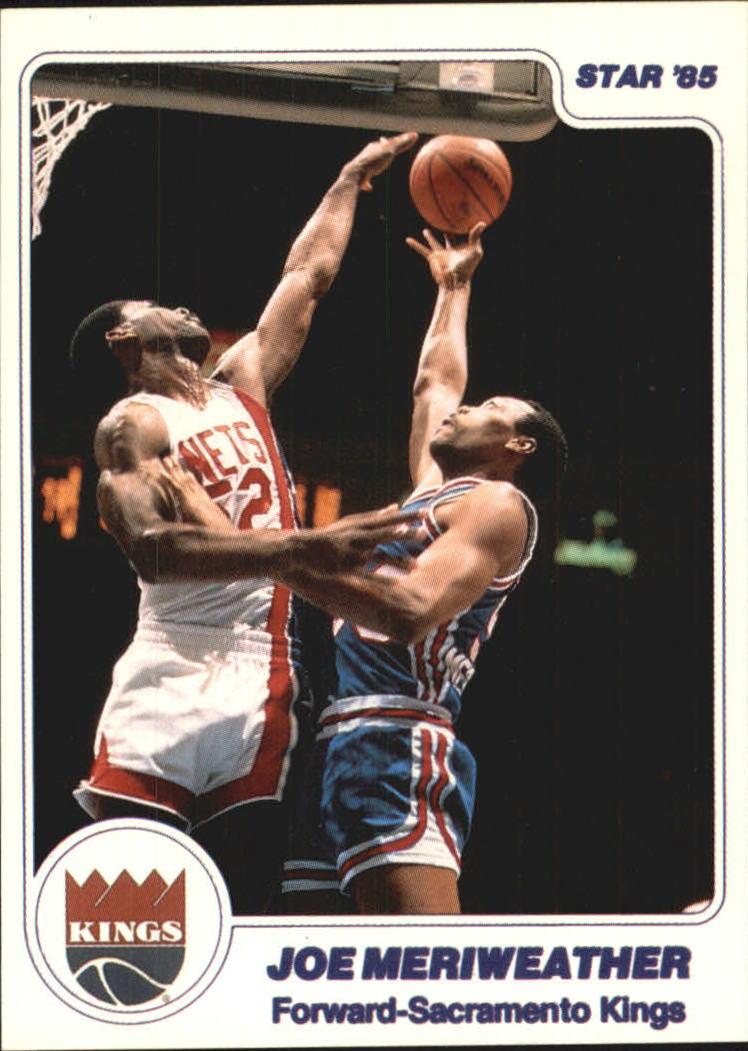 1984-85 Star #275 Joe Meriweather