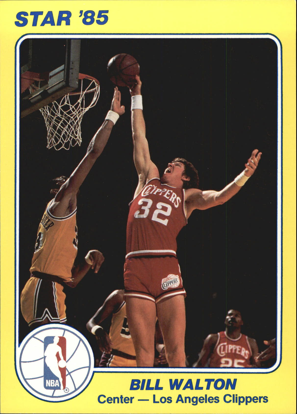 1984-85 Star Court Kings 5x7 #9 Bill Walton