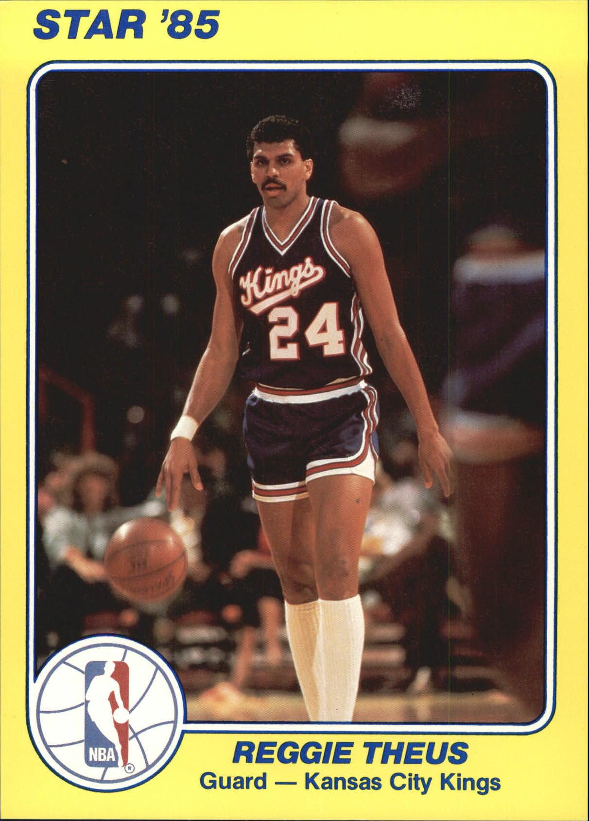 1984-85 Star Court Kings 5x7 #16 Reggie Theus