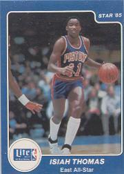 1985 Star Lite All-Stars #6 Isiah Thomas