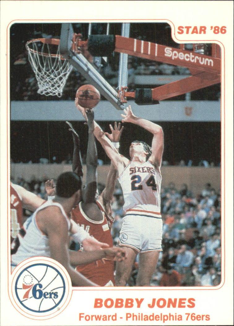 1985-86 Star #5 Bobby Jones !