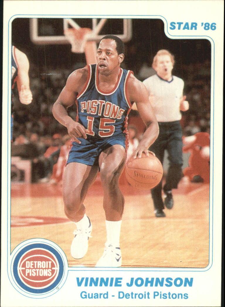 1985-86 Star #13 Vinnie Johnson