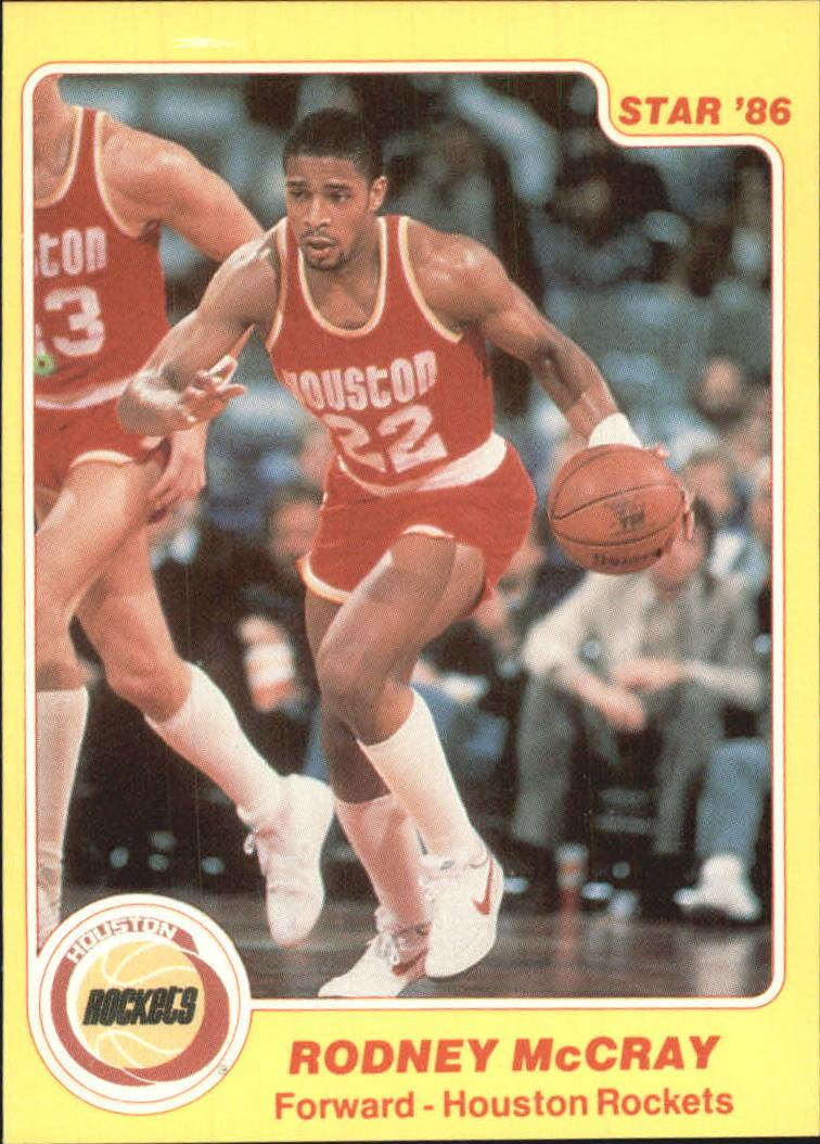 1985-86 Star #22 Rodney McCray
