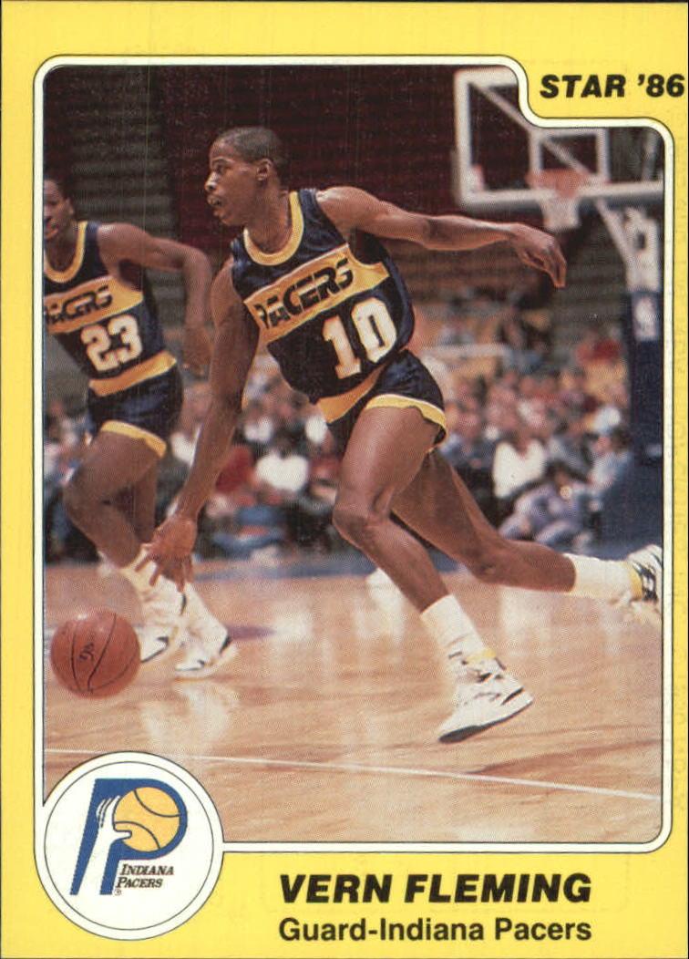 1985-86 Star #83 Vern Fleming