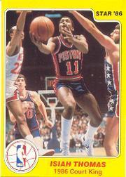 1986 Star Court Kings #28 Isiah Thomas