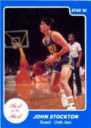 1986 Star Best of the Best #12 John Stockton