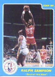 1986 Star Best of the New/Old #4 Ralph Sampson