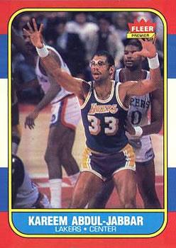 1986-87 Fleer #1 Kareem Abdul-Jabbar