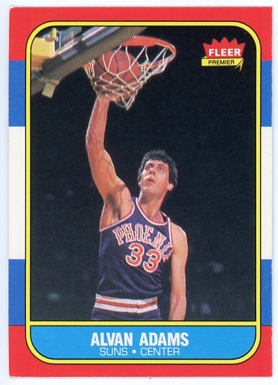 1986-87 Fleer #2 Alvan Adams