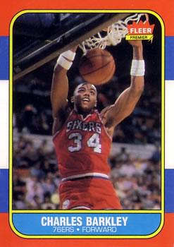 1986-87 Fleer #7 Charles Barkley RC