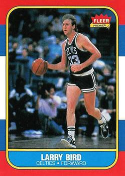 1986-87 Fleer #9 Larry Bird !