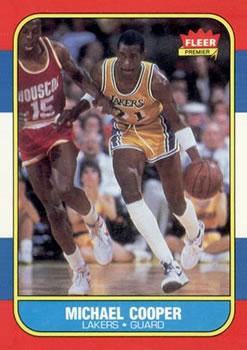 1986-87 Fleer #17 Michael Cooper