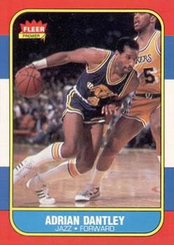 1986-87 Fleer #21 Adrian Dantley