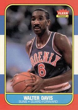 1986-87 Fleer #23 Walter Davis