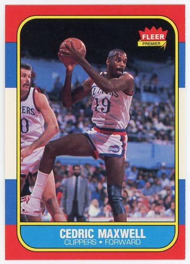 1986-87 Fleer #70 Cedric Maxwell