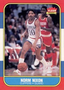 1986-87 Fleer #80 Norm Nixon
