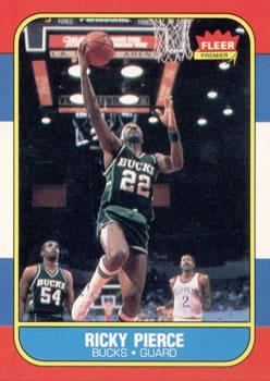 1986-87 Fleer #87 Ricky Pierce RC