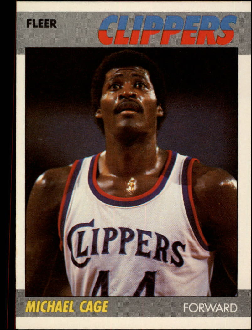 1987-88 Fleer #15 Michael Cage RC