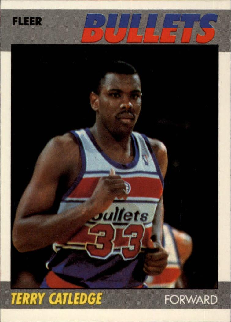 1987-88 Fleer #18 Terry Catledge RC