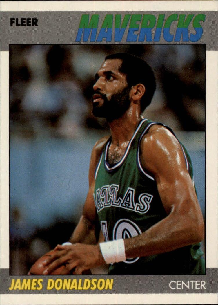 1987-88 Fleer #28 James Donaldson