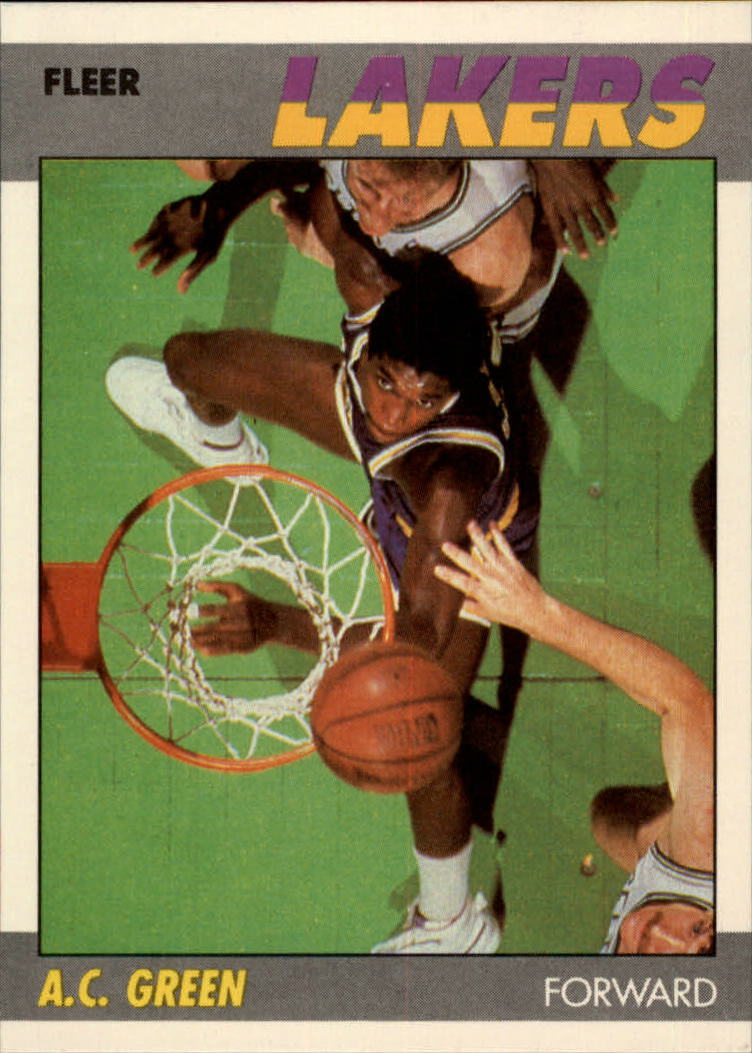 1987-88 Fleer #42 A.C. Green RC