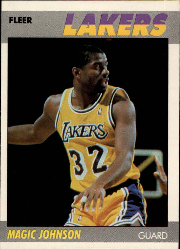 1987-88 Fleer #56 Magic Johnson