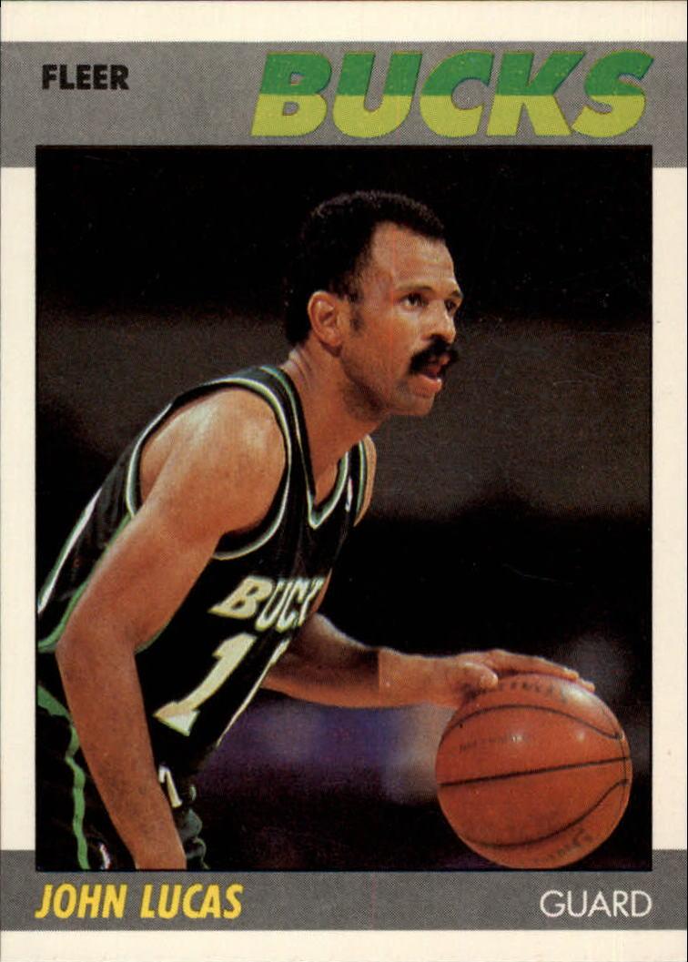 1987-88 Fleer #66 John Lucas