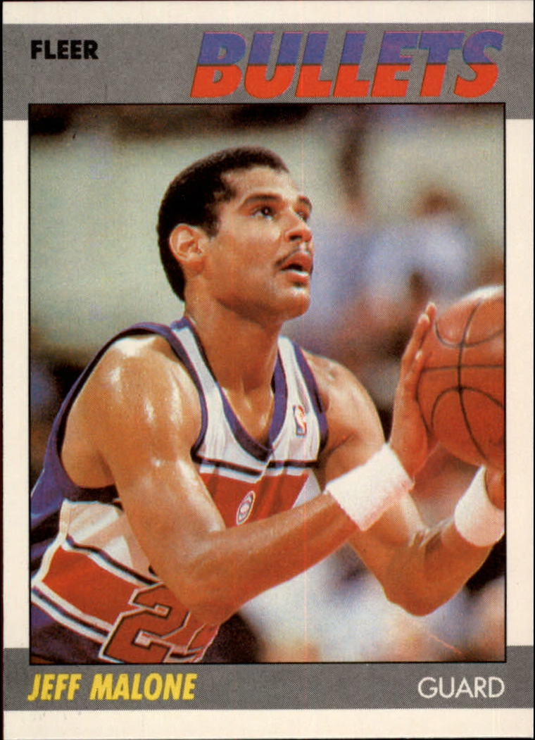 1987-88 Fleer #67 Jeff Malone