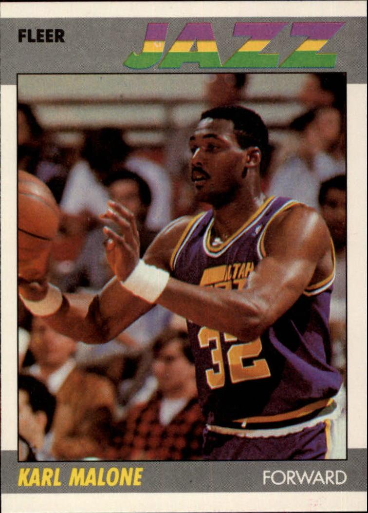1987-88 Fleer #68 Karl Malone